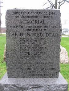 Harrison Park monument, Kalamazoo (MI)