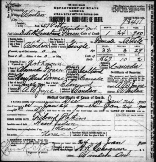free wayne county mich death records
